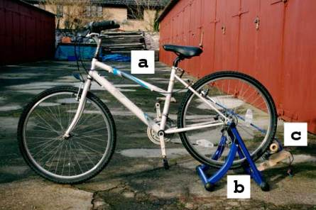 Basic bicycle generator